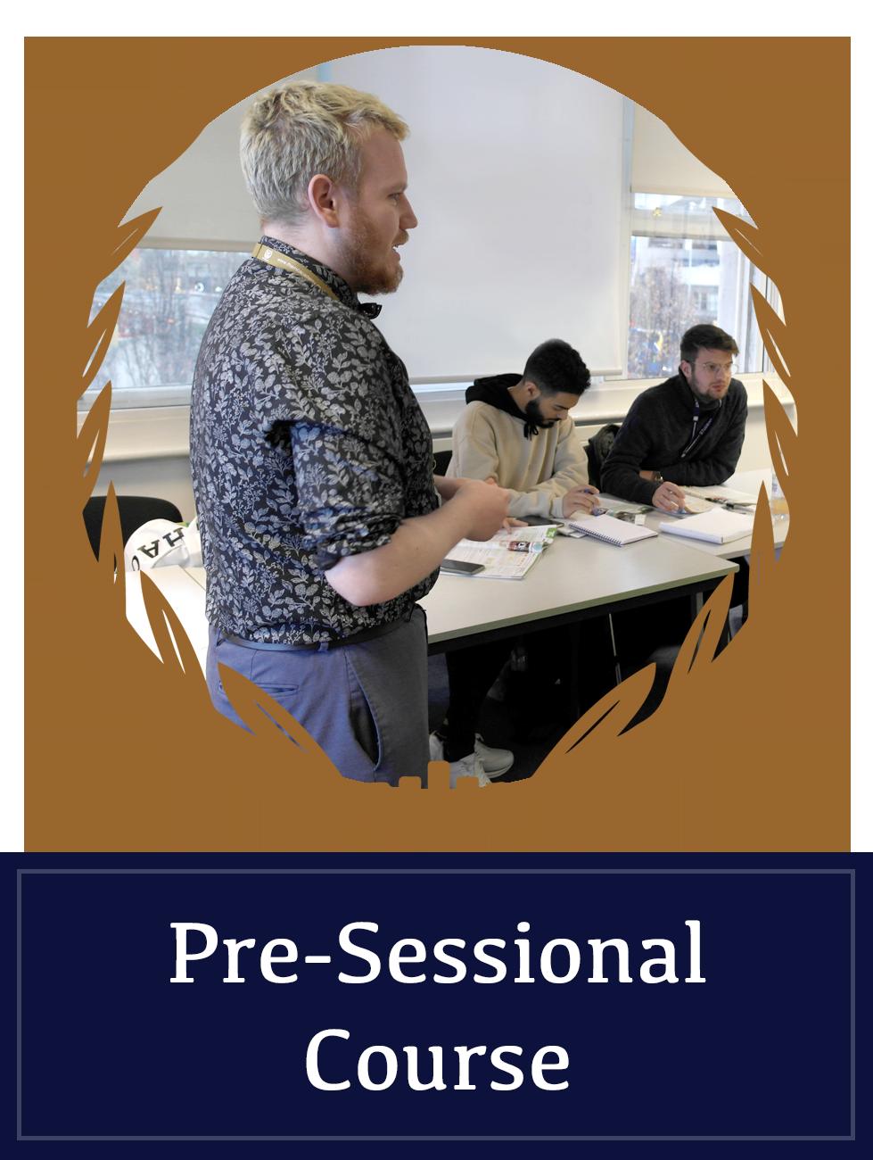 Pre-Sessional Course