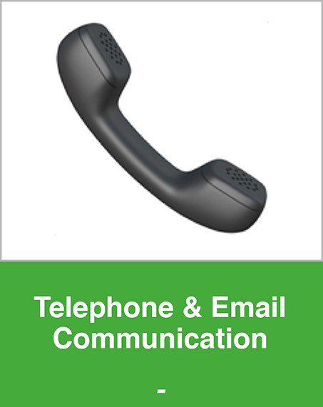 Telephone and Email Communication