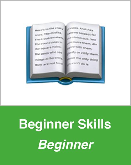 Beginner Skills