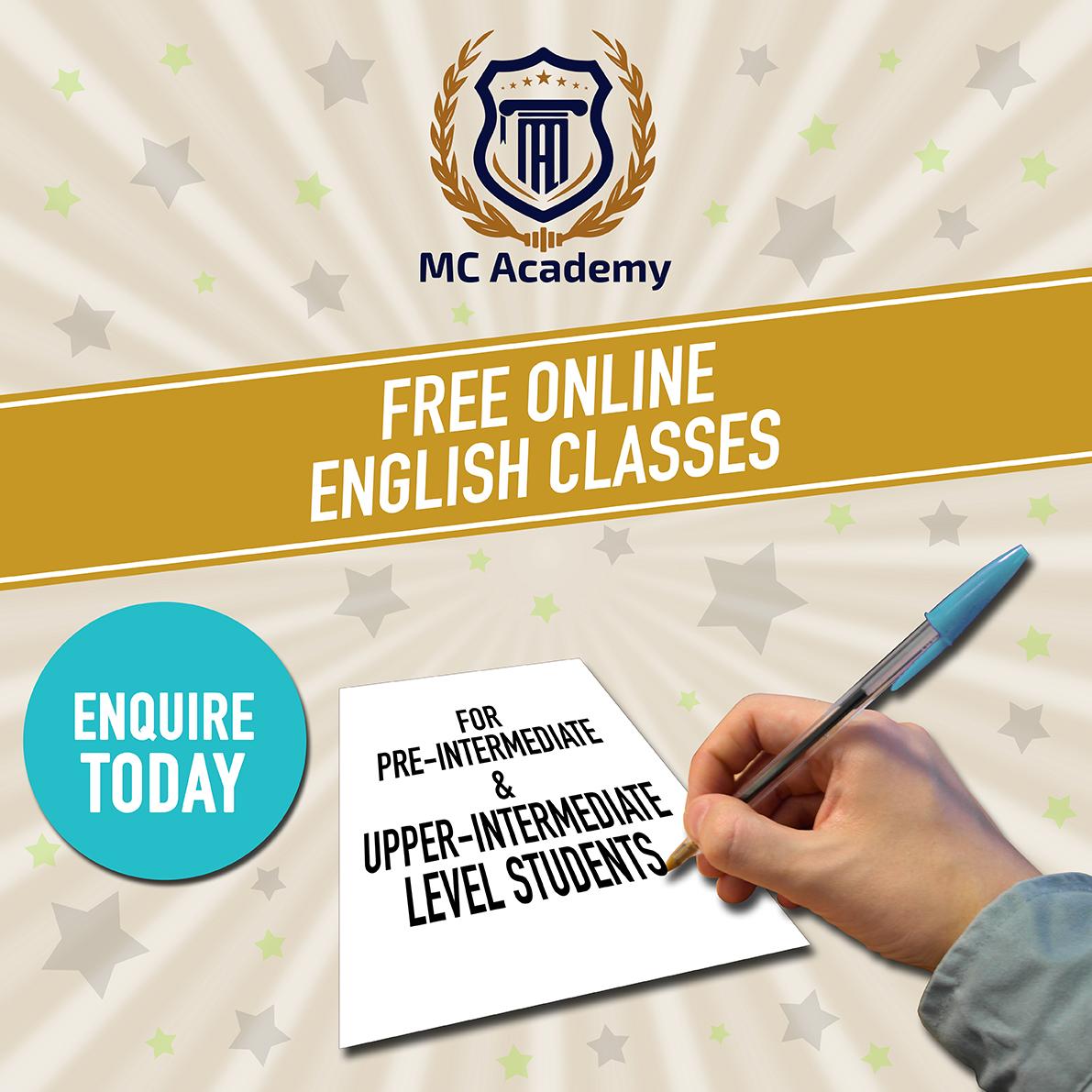 Free Online English Classes
