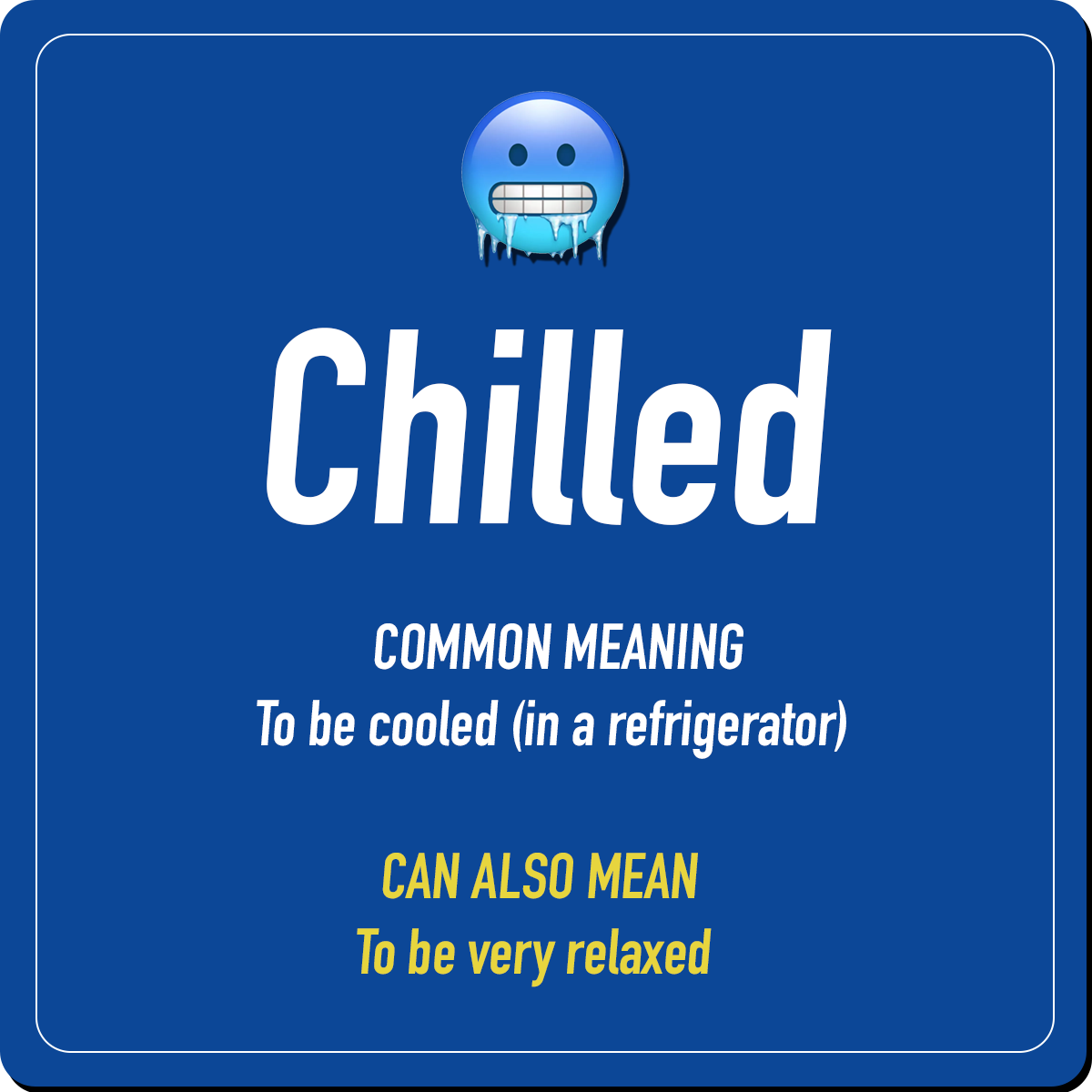 Chilling Vocabulary 3