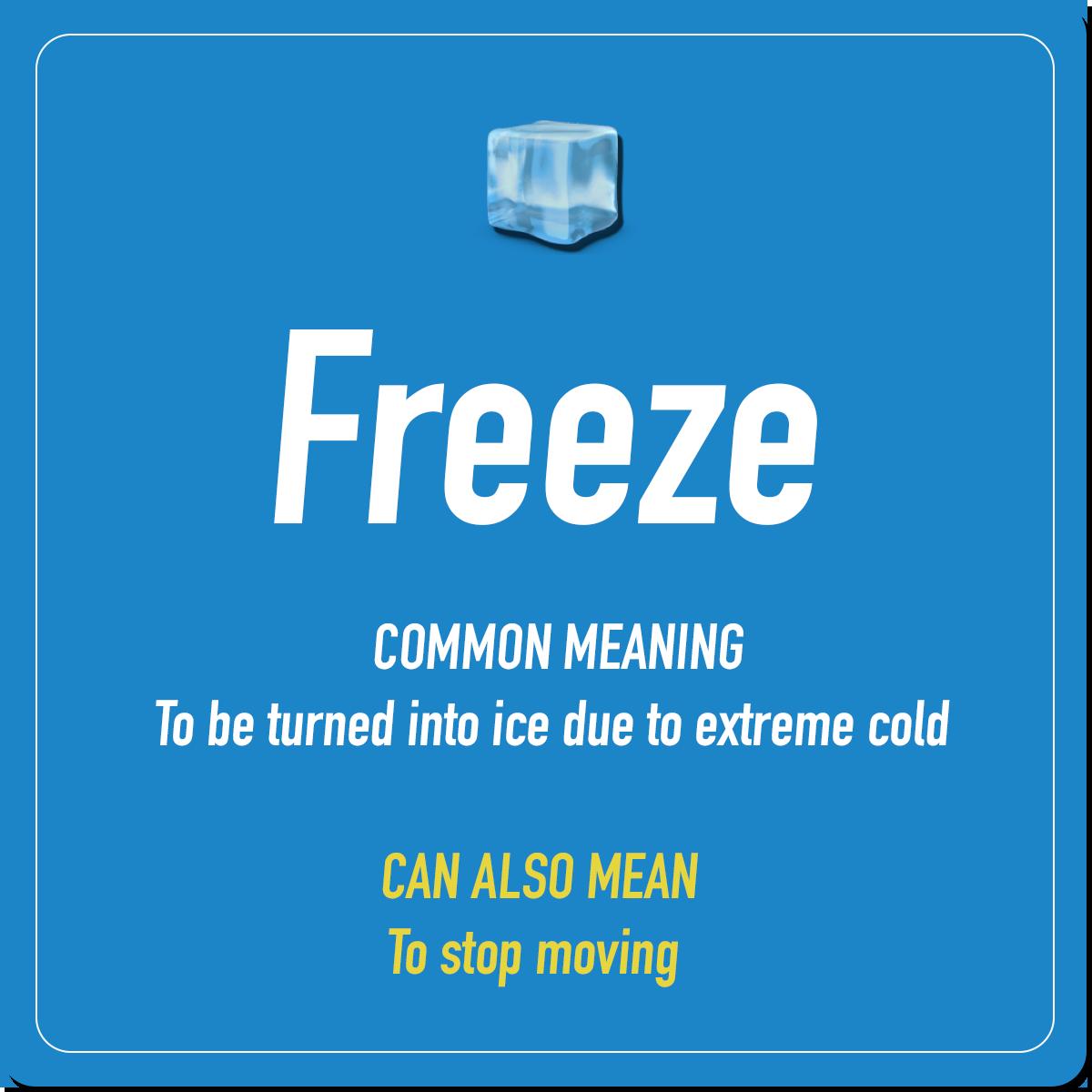 Chilling Vocabulary 4