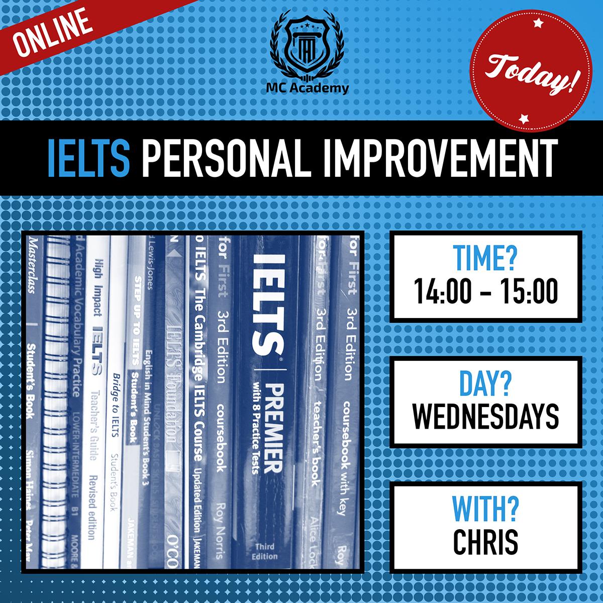 IELTS - Personal Improvement